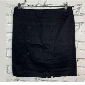 Apostrophe Pencil Stretch Black Mini Skirt  10